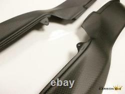 Ducati 749 999 Carbon Air Intake Covers In Plain Matt Weave Fiber Fibre Panels