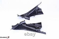Ducati 899 959 1199 1299 Carbon Fiber Air Intake Cover Dash Panel Fairing Trim