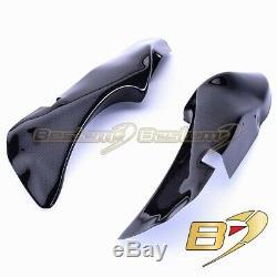 Ducati 916 748 996 998 Carbon Fiber Dash Covers Ram Air Intake Duct Tube Panel