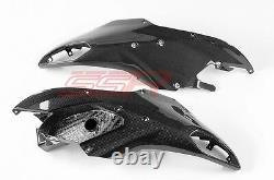 Ducati Multistrada 1200 Front Beak Fairings Ram Air Intakes 100% Carbon Fiber