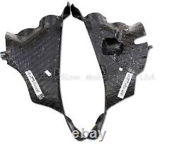 Ducati Panigale V4 V4S V4R Full Carbon Fibre Air Intake Duct Covers Panels Matte