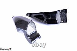 Ducati Streetfighter S 848 Carbon Fiber Air Intake Covers 2, Twill 100%