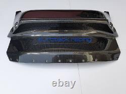 Ferrari 488 GTB / Spider Carbon Fiber Front Bumper Center Air Intake Splitter