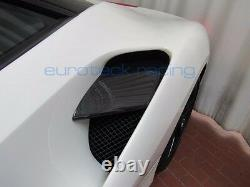 Ferrari 488 GTB / Spider Carbon Fiber side active air intake flaps / fins