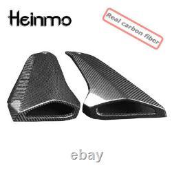 For 13-16 Yamaha MT 09 MT09 Carbon Fiber Gas Tank Side Fairing Air Intake Cover