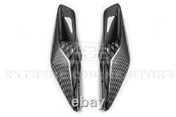 For 14-19 Corvette C7 Z06 Factory Style Carbon Fiber Rear Quarter Intake Vents
