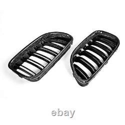 For BMW 6-Series F06 M6 F12 F13 650i 12-17 Front Kindney Grille Carbon Fiber