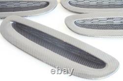 For MINI F54 F55 F56 F57 Clubman Cabrio Scoop Vent Air Intake Carbon Fiber