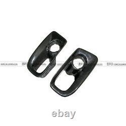 For Nissan Skyline R33 GTR Carbon Fiber Front Bumper Air Duct Intake Border