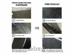 Front Upper Dash Air Intake Cover Fairing Carbon Fiber For BMW S1000RR 2019-2020