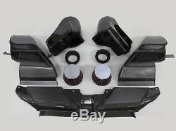 GruppeM RAM Air Intake Audi RS4 8K (B8) V8 Carbon Fiber Intake Kit