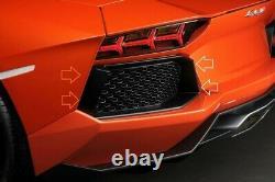 Lamborghini Aventador LP700 Carbon Fiber Rear Bumper Air Intake Vent Trim