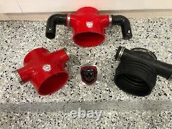 Maserati GranTurismo QP Upgraded Air Intake + Carbon Fiber sound chamber set