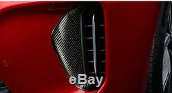 New KIA Genuine OEM TUON Real Carbon Fiber Air Intake Covers for KIA Stinger 17