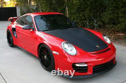 Porsche 997 Turbo GT2RS CARBON FIBER side air intake scoops, matte or gloss