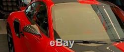 Porsche Gt2 Gt 3 Rs Rear Air Intake Covers R & L Orig. Porsche Oem Carbon Fiber