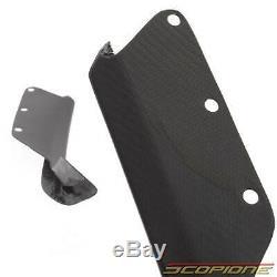 Scopione Carbon Fiber Brake Scoop Vents for Chevy 15-19 Corvette C7 Z06 ZR1 GS
