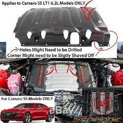 Scopione Carbon Fiber Engine Cover for Chevy 14-19 Corvette C7 & 16-20 Camaro SS