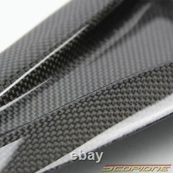 Scopione Carbon Fiber Hood Air Vents Intake Duct Insert for Nissan 09-19 GTR R35