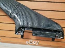 Subaru WRX STI RAM Air Intake Duct, HGS Custom Hydrographic Carbon Fiber