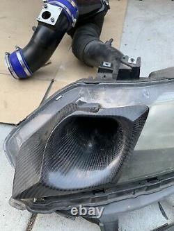 T1R Carbon Fiber Intake Box Cold Ram Air Setup 07-11 Honda Civic Si Sedan FA5