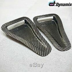 Universal Carbon Fibre NACA Air Intake Duct (pair)