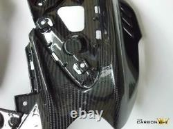 Yamaha Mt10 Carbon Side Fairing Under Air Intake Panel In Twill Gloss Weave