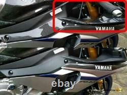 Yamaha R1 2015 19 Carbon Air Duct Intake Access Covers Twill Gloss Fibre 2nds