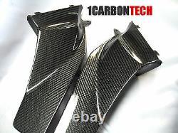 03 04 05 06 2005 2006 Honda Cbr 600rr Couvertures D'apport En Fibre De Carbone