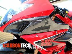05 06 2005 2006 Suzuki Gsxr 1000 En Fibre De Carbone Ram Couvertures D'admission D'air