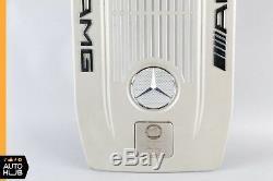 05-12 Mercedes W216 Cl65 S65 Sl65 Amg En Fibre De Carbone D'admission Du Couvercle Du Moteur Oem
