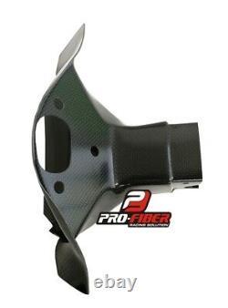 08-10 Carbon Race Air Duct Intake Clock Fairing Bracket Kawasaki Zx10-r Zx-10r