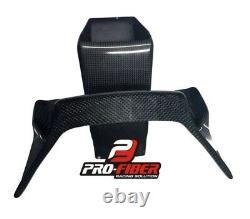 08-16 Race Carbon Prises D'air Duct Horloge Carénage Support Yamaha Yzf R6 2008-2016