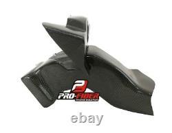 15-19 Carbon Race Prises D'air Duct Horloge Carénage Support Yamaha Yzf R1 2015-2019