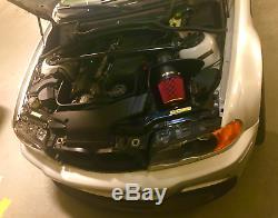 2001-2006 Bmw M3 E46 D'admission D'air Système Avec 4 Haut Airflow En Fibre De Carbone