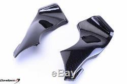 2005-2006 Zx6r 100% Fibre De Carbone D'admission D'air Dash Panneau De Couverture Carénage Cowl Zx6r