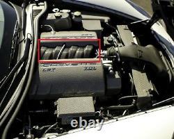 2008-2013 C6 Corvette Ls7 Prise Couvrir Fibre De Carbone