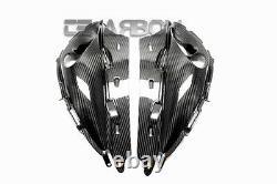 2008 2013 Suzuki Hayabusa Gsx1300r En Fibre De Carbone De L'air D'admission Ram Covers 2x2