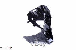 2009-2014 S1000rr 100% Fibre De Carbone Head Nez Cowl D'admission D'air Weave Sergé