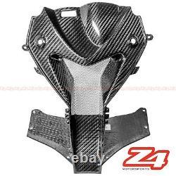 2009-2014 S1000rr Upper Front Nose Center Air Intake Ram Careing Fibre De Carbone