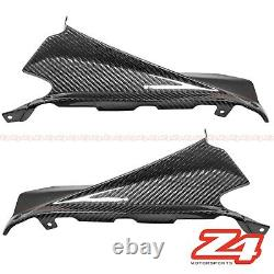 2009-2015 Rsv4 Upper Front Dash Air Intake Trim Panel Fairing Cowl Carbon Fiber