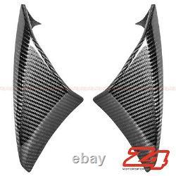 2010-2013 Z1000 Air Intake Ram Cover Panel Shroud Trim Fairing Cowl Fibre De Carbone