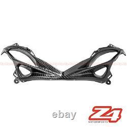 2011-2019 Gsx-r 600 750 Lower Nose Air Intake Ram Trim Fairing Cowl Fibre De Carbone