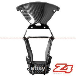 2016-2020 Zx-10r Front Nose Center Air Vent Intake Cowering Fibre De Carbone