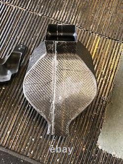 Aérien De Carbone Duct Intake Clock Fairing Bracket Kawasaki Zx10-r Zx-10r Usine
