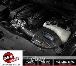 Afe 58-10003r Prise D'air Froid En Fibre De Carbone 2012-2014 Chrysler 300 Srt8 6.4l Hemi
