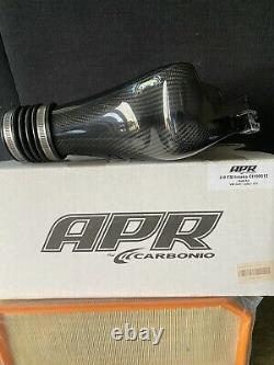 Apr Carbonio Carbon Fiber Cold Air Intake Housing Vw Golf & R, Gti Jetta Gli