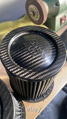 Audi R8 V10 K&n Entrées Carbon Fibre