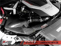 Awe Tuning Pour Audi B9 S4/s5 3.0t Fibre De Carbone Airgate Intake Avec LID Awe2660-1