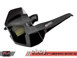 Awe Tuning Pour Audi S4 B9 / S5 3.0t En Fibre De Carbone Airgate Apport Witho Couvercle Awe2660